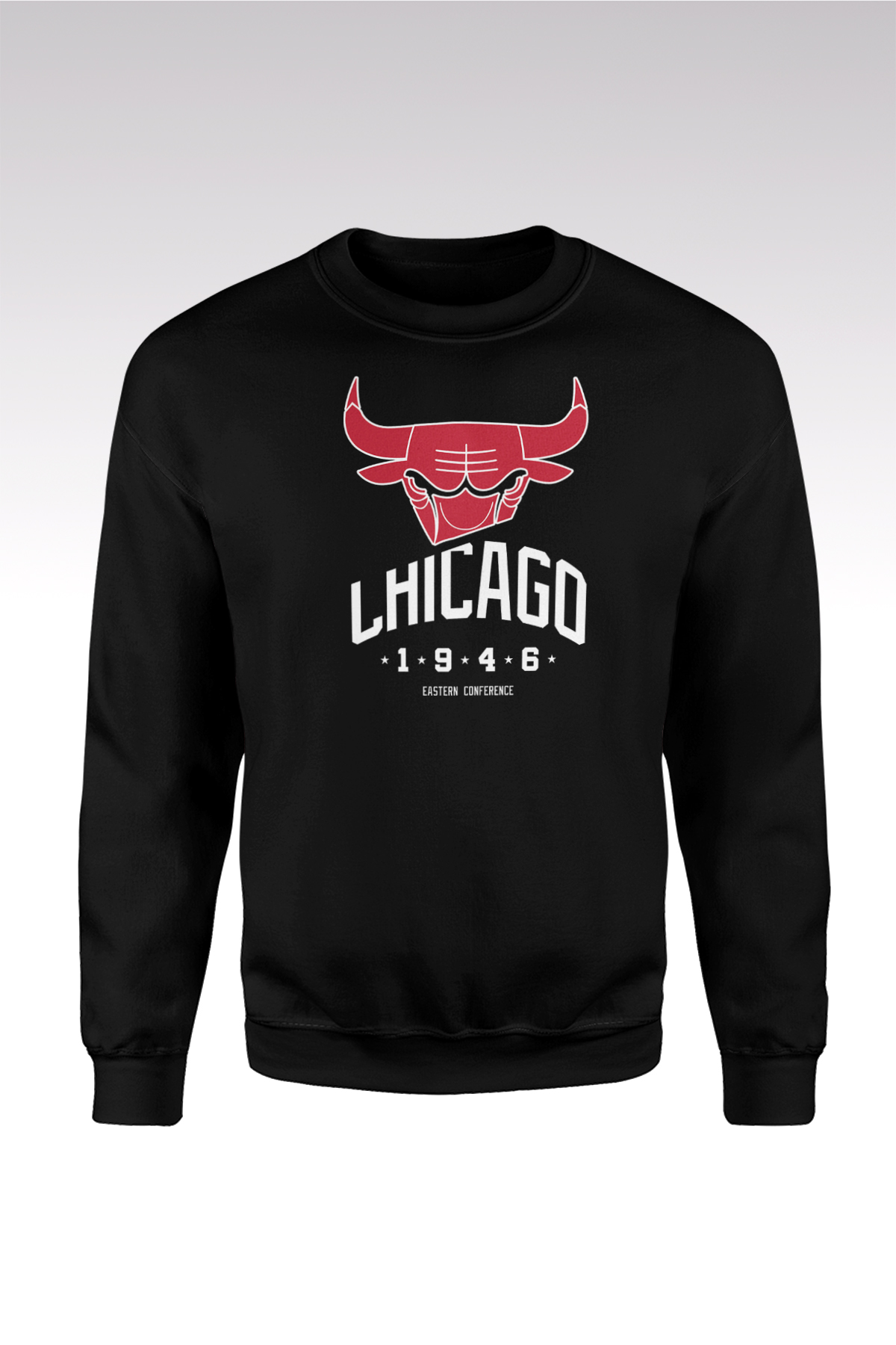 Chicago Bulls 37 Siyah Sweatshirt